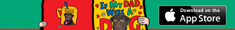 If My Dad were a dog banner ad