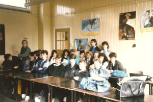 The class that I was Bruce's prefect for.