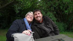 Hugh and his mum, Helen.